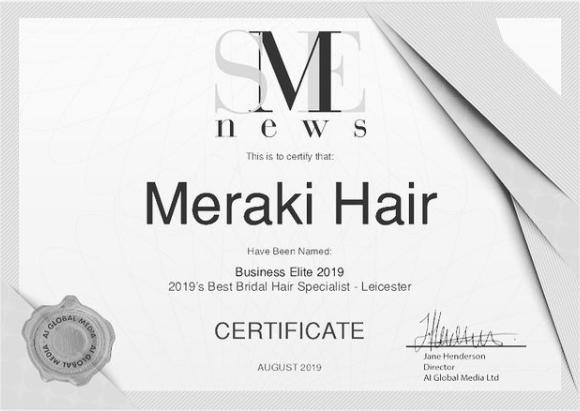 Meraki Hair Best Bridal Hair Specialist